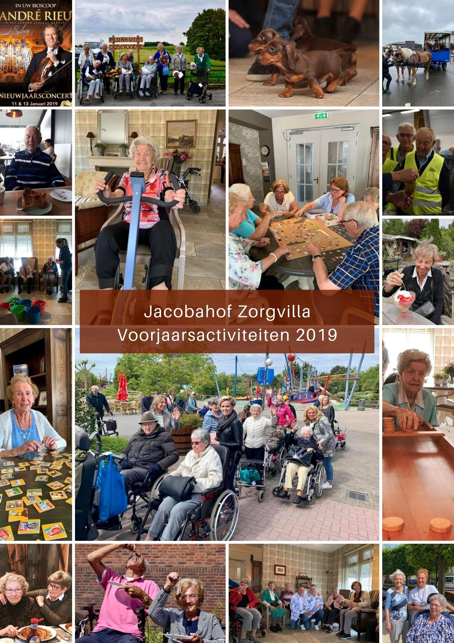 Voorjaarsactiviteiten Jacobahof zoargvilla